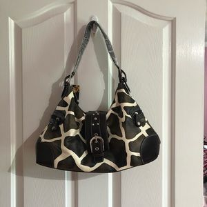Brand new animal print purse